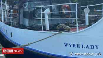 Sprotbrough 'arson attack' hits historic Wyre Lady vessel