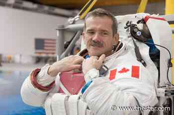Buzzing through air and space: New species of bee named after Canadian astronaut Chris Hadfield