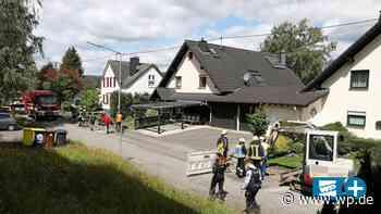 Hilchenbach: Gasleitung beschädigt – fünf Häuser evakuiert - Westfalenpost