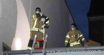 Sturz aus dem vierten Stock: Feuerwehr in Siegburg rettet abgestürzte Katze von Vordach - General-Anzeiger Bonn