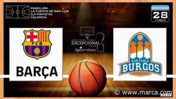 Barça Basket - San Pablo Burgos: resumen, resultado y estadísticas - Fase Final ACB 2020 - MARCA.com