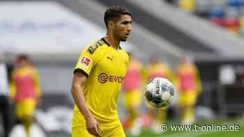Borussia Dortmund - BVB-Abschied von Hakimi: Werde die Gelbe Wand nie vergessen - t-online.de