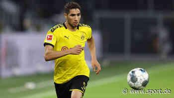 """Borussia Dortmund: Achraf Hakimi dankt dem BVB zum Abschied: """"Werde die Gelbe Wand nie vergessen"""" - sport.de"""