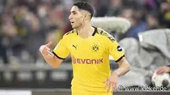 Inter Mailand - Achraf Hakimi verabschiedet sich von Borussia Dortmund - kicker - kicker