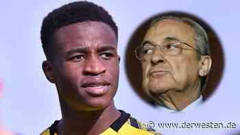 Borussia Dortmund: Real Madrid schmiedet unglaublichen Moukoko-Plan - Derwesten.de