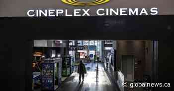 Cineplex to reopen some Canadian theatres as coronavirus causes revenues to plunge