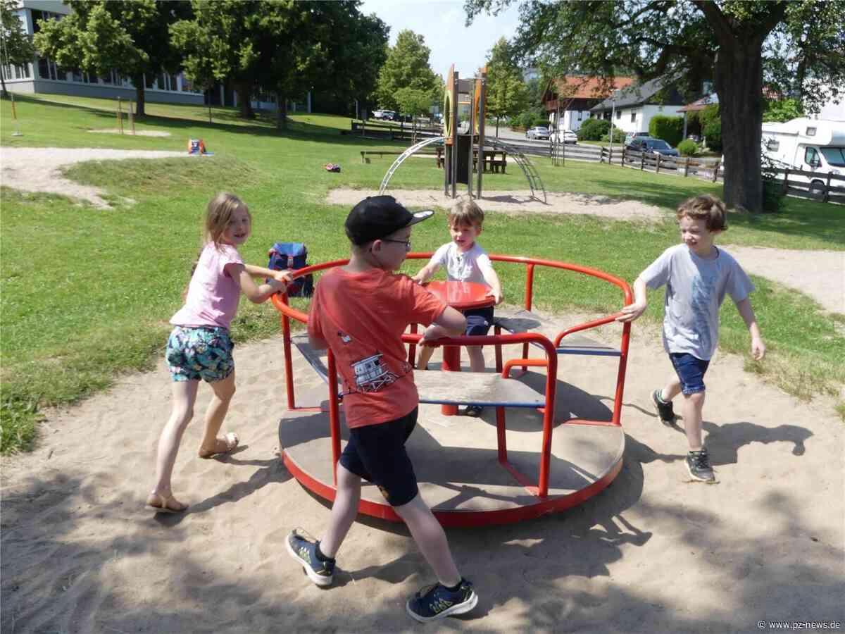 Freiräume für die ganze Familie: Karlsbad bietet in den fünf Ortsteilen insgesamt 27 öffentliche Spielplätze - Region - Pforzheimer Zeitung