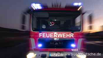 Feuer zerstört historisches Wohnhaus in Leichlingen - Süddeutsche Zeitung