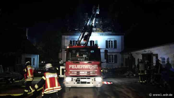 Brand in Bauernhaus in Leichlingen - WDR Nachrichten