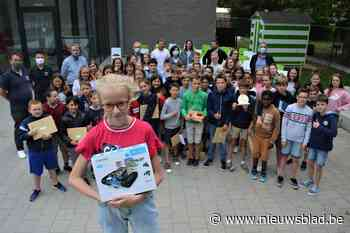Louise wint STEM-robot dankzij VR-rondleiding in VTI Sint-Lucas