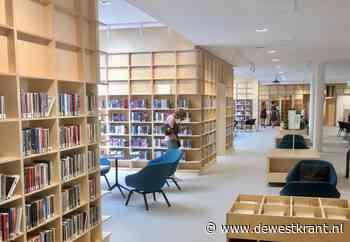Bibliotheek Mercatorplein: veel ruimte, licht en boeken - De Westkrant