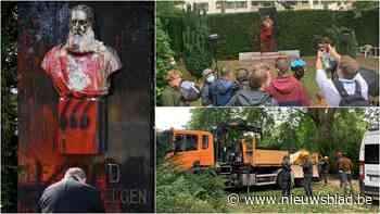 LIVE. Standbeeld van Leopold II wordt weggehaald in Gent