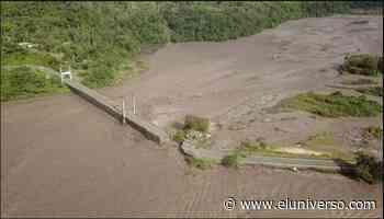 Colapsa tramo de la vía Macas-Puyo, cerca de puente, por desbordamiento del río Upano - El Universo
