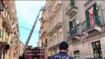Taranto | Incendio in un appartamento, paura in centro - Canale 85