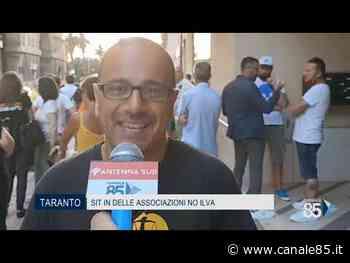 Taranto | Sit in di protesta delle associazioni no-Ilva - Canale 85