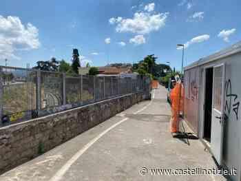 CIAMPINO - 20 giorni per i lavori del ponte ferroviario tra via 2 Giugno e via Mura dei Francesi - Castelli Notizie