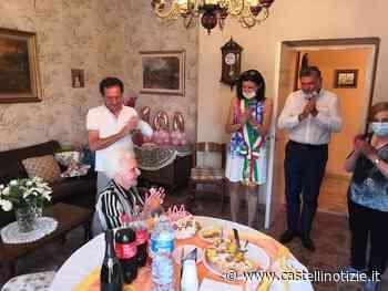Ciampino, Desolina Paolini ha spento 100 candeline. Gli auguri dell'Amministrazione - Castelli Notizie