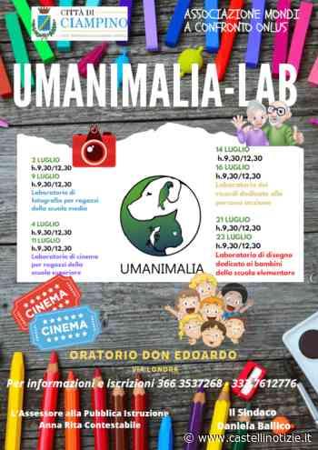 Ciampino, con Manimalia-Lab al via laboratori di disegno, fotografia, cinematografia e incontro con gli anziani - Castelli Notizie