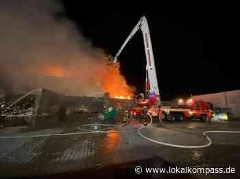 Großbrand bei Recyclingfirma - Marl - Lokalkompass.de