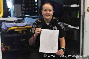 Moose Jaw paramedic featured in artwork spread in national magazine - moosejawtoday.com