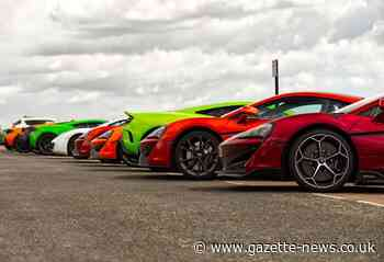 Hundreds of attention-grabbing supercars pull into Frinton