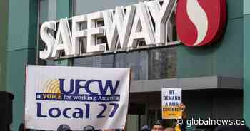 Alberta Safeway union votes to strike as contract talks stall, hero pay removed