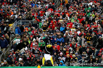 Blackhawks fans continue to represent on the ice despite on ice struggles