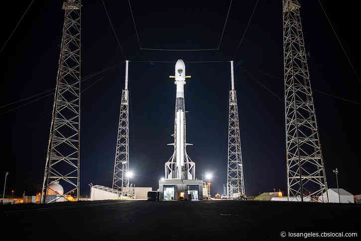 SpaceX Prepares To Launch Space Force GPS Satellite Into Orbit