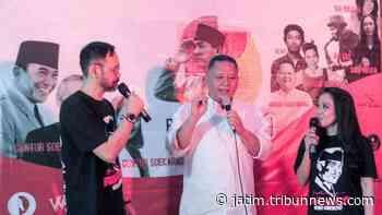 Live Jejak Bung Karno 2020, Guntur Seokarnoputra Beri Kado Istimewa - TribunJatim.com