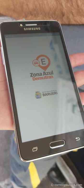 Zona Azul Digital começa a funcionar em caráter piloto em Barueri - Correio Paulista