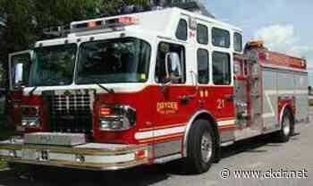 Dryden Fire Responds To Fire On Highway 17 - ckdr.net