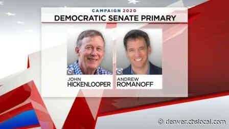Colorado Voters Decide Sen. Gardner's Challenger In Primary