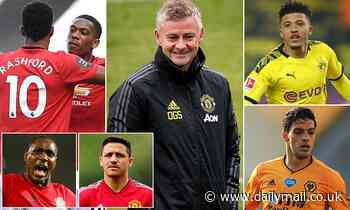 Manchester United's attacking shopping list: Ole Gunnar Solskjaer's top 10 targets this summer