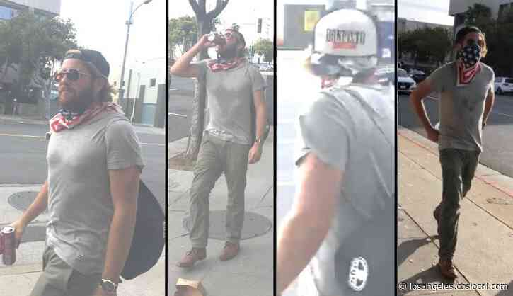 Man Wanted For Setting Fire To Santa Monica Police Car