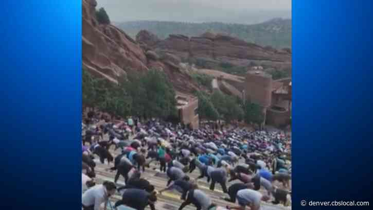 Reopening Colorado: Yoga On The Rocks Returns With Limits On Attendance