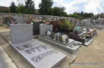 Un tag raciste sur la tombe du père du maire d'Itteville - Le Parisien