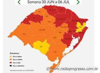 Bandeira vermelha da Covid-19 para regiões de Santo Ângelo e Palmeira das Missões poderá não atingir todos os municípios - Rádio Progresso de Ijuí
