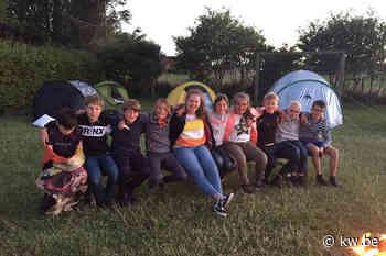 Zesdejaars van vrije basisschool Zonnebloem overnachtten in school als afscheid