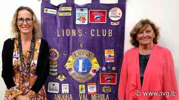 """Maria Teresa Nasi è la nuova presidente del Lions Club """"Andora Valle del Merula"""" - IVG.it"""