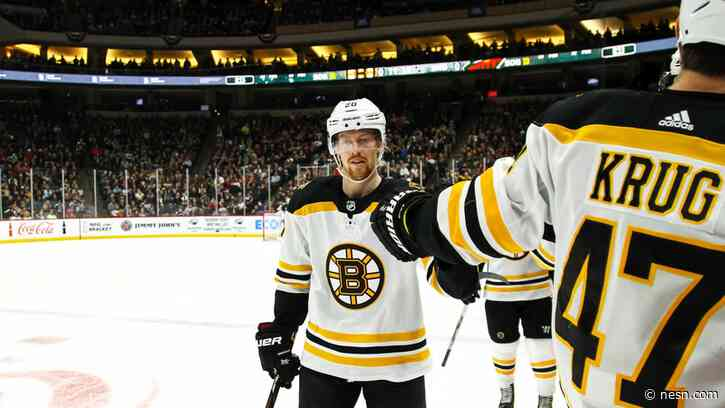 How NHL Pause Helped Bruins' Joakim Nordstrom Get In 'Better State' Mentally