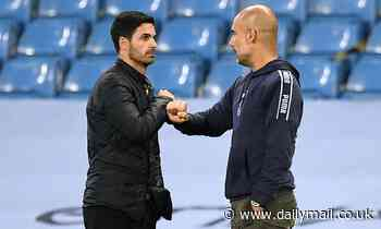 Mikel Arteta is still in close contact with Pep Guardiola, despite leaving him at Manchester City