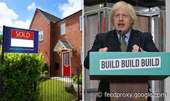 Boris Johnson £5bn recovery plan promises a third off homes for first-time buyers