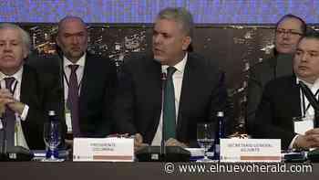 Duque VS Maduro. Naciones del Tratado de Río se mueven para aislar aún más a Venezuela - El Nuevo Herald