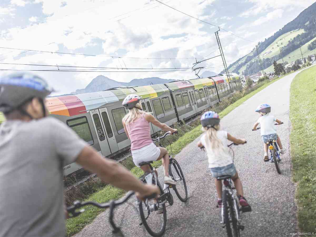 San Candido: Bike & Family Adventures: Pista ciclabile San Candido - Brunico - Dolomiti.it