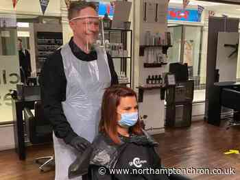 Watch as Northampton hair salon owners show customers what to expect as they reopen - Northampton Chronicle and Echo