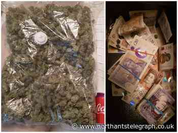 Drugs squad officers seize cannabis and cash during raids in Northampton and Wollaston - Northamptonshire Telegraph