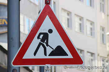 Straßenbauarbeiten in Hiddenhausen - Radio Herford