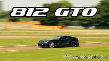Ferrari 812 GTO sul circuito di Fiorano: video di Varryx - evo magazine