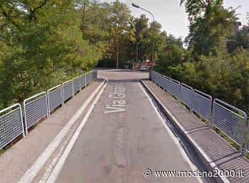 Chiusura ponte via Ghiarella e altre modifiche alla viabilità a Fiorano - Modena 2000