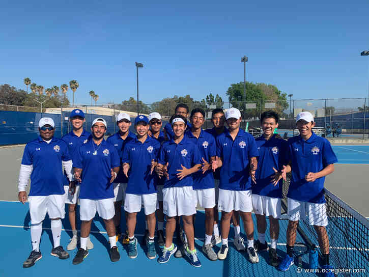 Spring wrap-up Q&A: Fountain Valley tennis coach says seniors deserved chance to 'walk away with great memories'